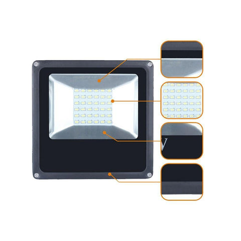 High Power SMD5730 Waterproof IP65 Outdoor LED Floodlight