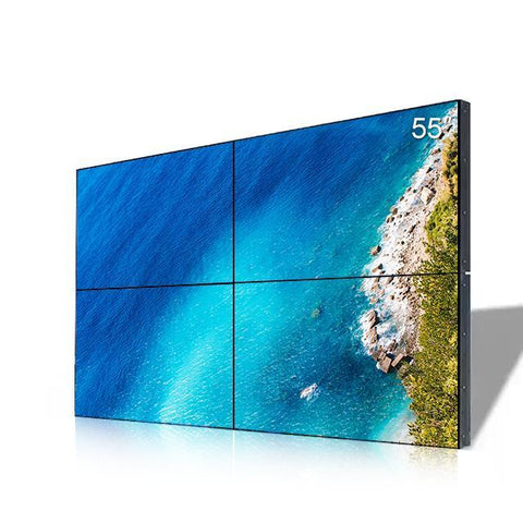 Image of 55'' LCD Video Wall,BOE Panel, 500nit Monitor,HD 2K (1920x1080)/ UHD 4K (3840x2160) Resolution TV Display