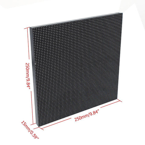 Image of M-OD3.9 P3.91 Rental Sereis LED Module,Full RGB 3.91mm Pixel Pitch LED Tile in 250*250mm with 4096 dots, 1/16 Scan, 5000 Nits for outdoor Display