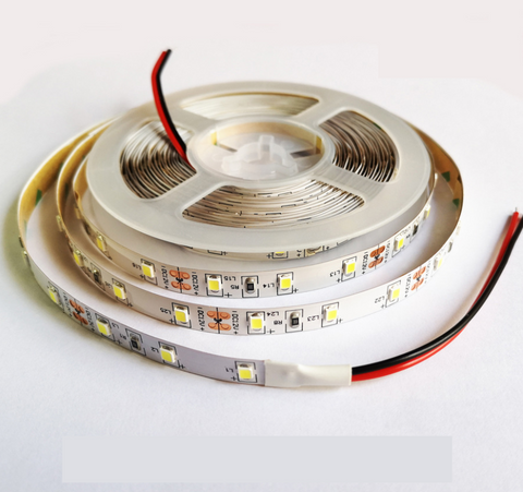 Image of High CRI > 90 Super Slim DC 12V SMD3528-300 Flexible LED Strips 60 LEDs Per Meter 5mm Width 300lm Per Meter