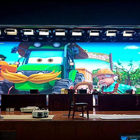 Image of iF-S Series Indoor Fixed LED Display Screen 800nits Brightness in Pixel Pitch 3 | 4 | 5 | 6 mm Standard Aluminum Profile Cabinet