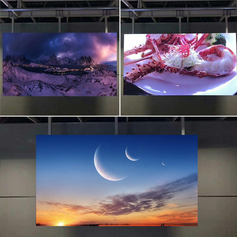 Image of TrueHD-480 GOB  Outdoor Series Fine Pixel in 2.0/2.5mm LED Display 480x480mm Aluminum Cabinet with Gel Protection Cover IP65 Waterproof