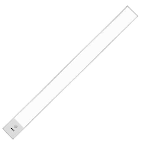 Image of 40cm (15.75'') Motion Sensor LED Under Cabinet Light, 1500mA Rechargeable Wireless Motion Nightlight Portable Magnetic Stick Up Night Light