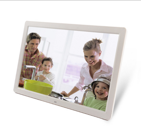 Image of Free Shipping 17 Inch Digital Photo Frame Andriod WiFi LCD Digital Signage Player with 16:10 High-Resolution HD Touch Screen Optional