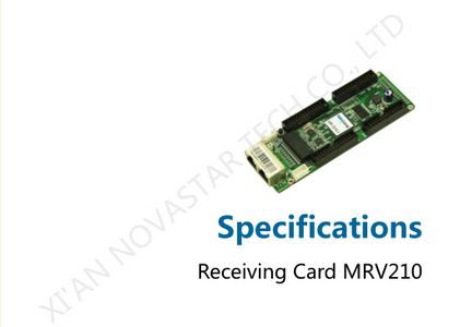 NovaStar MRV210 Series LED Screen Receiving Card