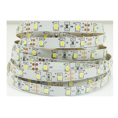 Image of High CRI > 90 DC 12V Dimmable SMD2835-300 Flexible LED Strips 60 LEDs Per Meter 8mm Width 1000lm Per Meter