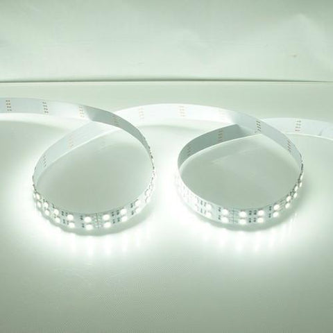 Image of High CRI >90 DC 12V Dimmable SMD5050-600 Double Row Flexible LED Strips 120 LEDs Per Meter 15mm Width 1800lm Per Meter