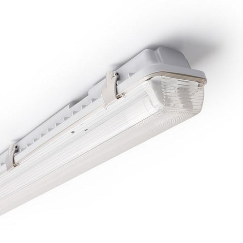 Image of LED Tube Fixture (No Tube included) for Dual LED Tube  Tri-proof LED Tube Support Bracket Waterproof , Dustproof, Corrosion-Proof