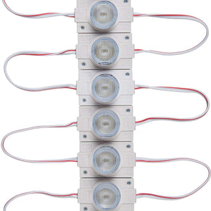 20pcs/pack LED Modules with Lens for Light Box DC12V 110LM 1.5W Waterproof IP65 with Adhesive Tape Back