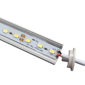 5 / 10 Pack 12V DC LED Corner Linear Profile LED Light Strip in Aluminum Profile with Cover for Under Cabinet Lighting
