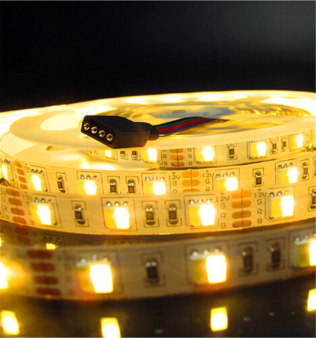 Image of 12VDC SMD5050-300-PWW 2 in 1 Dual White Color Temp-Adjustable Flexible LED Strip Light 60 LEDs Per Meter