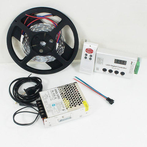 DC 5V SK6812 Individually Addressable LED Strip Light 5050 RGB Pixel LED Strip Kit 5 meters with 30LEDs