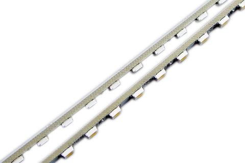 Image of 5 Pack 19.7 inch Super Slim 4mm SMD3528 Rigid LED Strip lighting 60LEDs