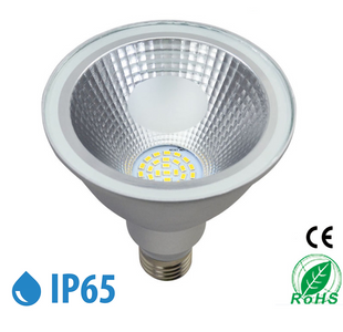 Outdoor PAR38 LED Light Bulb 15W 1110Lumen (100W Equivalent) 120-degree Flood Beam E27/E26 Non-Dimmable Waterproof IP65 Par Light
