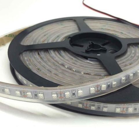 Image of DC12V SMD3528-600-IR InfraRed (850nm/940nm) Signle Chip Flexible LED Strips 120LEDs 9.6W Per Meter