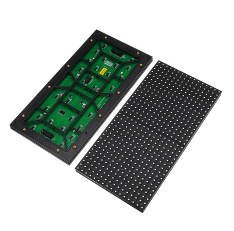 Image of M-ID10 P10 Normal Indoor Series LED Module, Full RGB 10mm Pixel Pitch LED Display Tile in 320*160mm with 512 dots, 1/8 Scan, 800 Nits for indoor Display