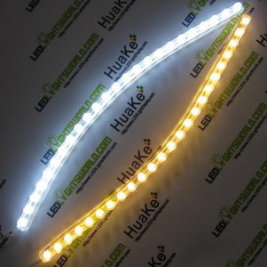 24cm/48cm/72cm/96cm/120cm Waterproof Flexible Grill LED Strip Light for Motorcycle, Car Lighting