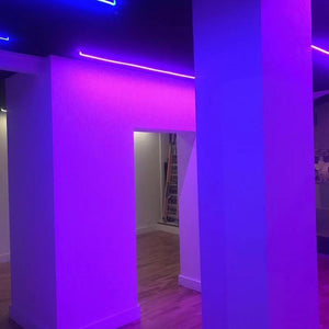 16.4FT DC12V T1616 Silicone RGB Color Changing LED Neon Flexible  IP67 Waterproof Strip Lights for DIY Indoor Outdoor Decorative Signs Letters