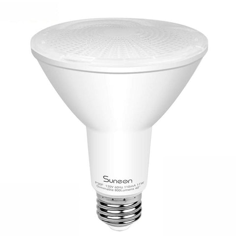 Image of LED PAR30 Long-neck 12W 75W-equivalent CRI80 840LM 40° Dimmable AC100-130V LED Light Bulb