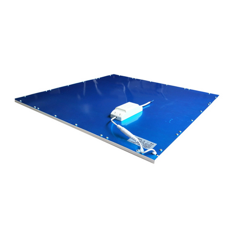 Image of 2'x2' (595x595mm) 40W LED Panel Light  in 0.39'' (10mm) Thick  White Trim Flat Sheet Panel Lighting Board Super Bright Ultra Thin Glare-Free