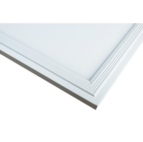 Image of 1'x1' (295x295mm) 12W LED Panel Light in 0.39'' (10mm) Thick White Trim Flat Sheet Panel Lighting Board Super Bright Ultra Thin Glare-Free
