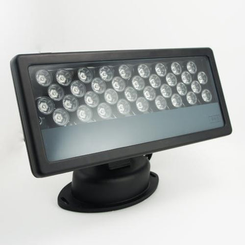 FREE SHIPPING 36Watt RGB LED Wall Washer 110-265V AC Flood Light Standalone Operating, DMX 512 Controllable and Master/Slave Workable, IP65 Waterproof for Outdoor Use