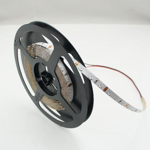12V DC SMD335-300 Side View Flexible LED Strips 60 LEDs Per Meter 8mm Wide FPCB LED Tape