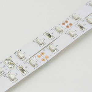365nm & 380nm SMD3528-300 12V 2A 24W UV (Ultraviolet) LED Strip Light Flex White PCB Tape for UV Curing, Currency Validation, Medical Field