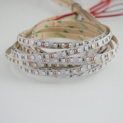 365nm & 380nm SMD3528-600 12V  4A 48W UV (Ultraviolet) LED Strip Light  Flex White PCB Tape Ideal for UV Curing, Currency Validation, Medical Field