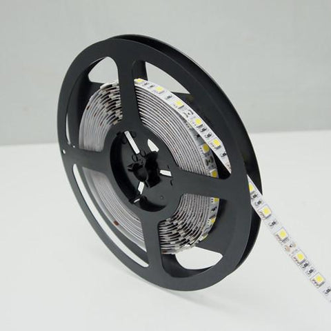 Image of 365nm & 380nm SMD5050-300 12V 6A 72W UV (Ultraviolet) LED Strip Light  Flex White PCB Ideal for UV Curing, Currency Validation, Medical Field