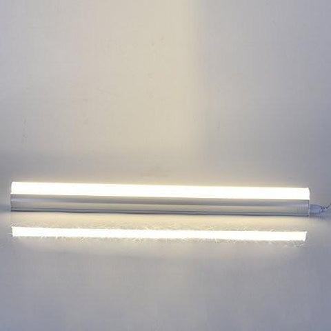 Image of FREE SHIPPING 10Pcs Pack /2FT/3FT/4FT/5FT Line Voltage AC T5 LED Tube Light Integrated with Aluminum Fixture and Milky White cover