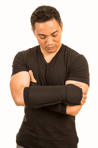 Active Aide® forearm protector-bite, pinch, scratch, punch resistant