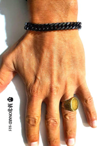 Bracciale Los Angeles In Black - Via Fratelli Lombardi 1
