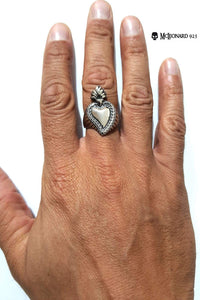 Anello Cuore Old Style