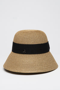 Cloche in Lurex Gold