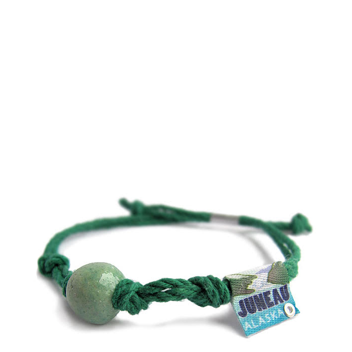Earth Bands Alaska Anklet Green