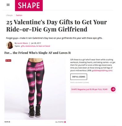 25 Valentine's Day Gifts to Get Your Ride-or-Die Gym Girlfriend