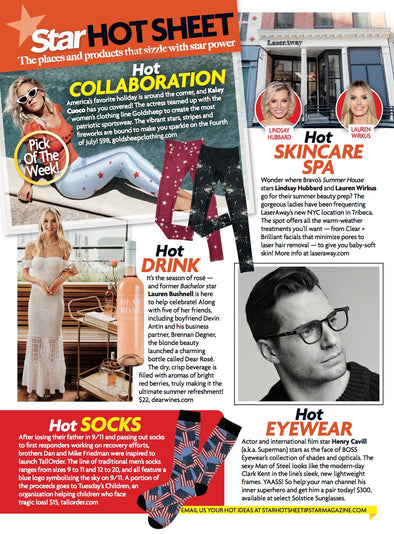 Star Magazine HOT SHEET ft. Kaley Cuoco!