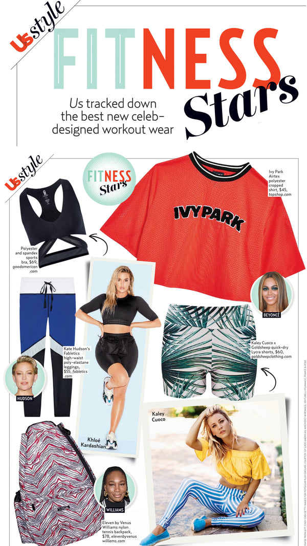 US Weekly Style - Fitness Stars