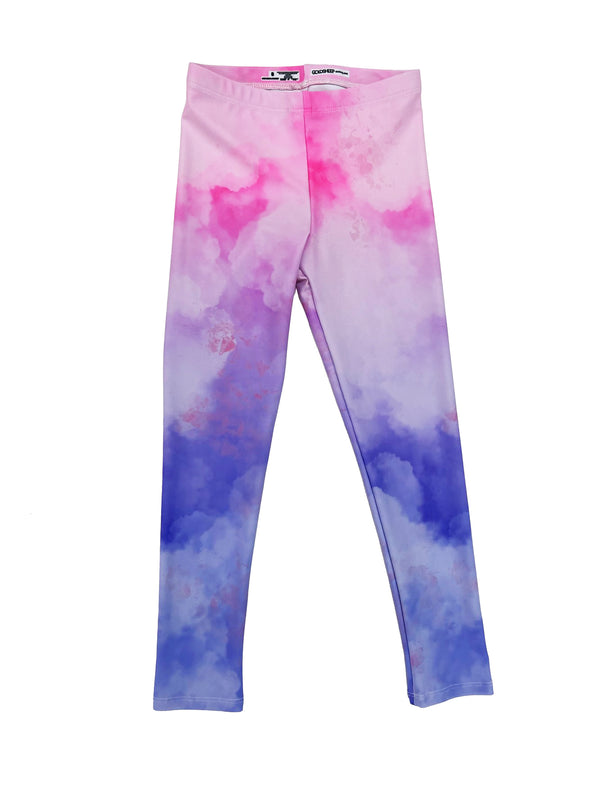 Ombré Clouds Kids Legging