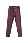 Written in the Stars Maroon Kids Legging