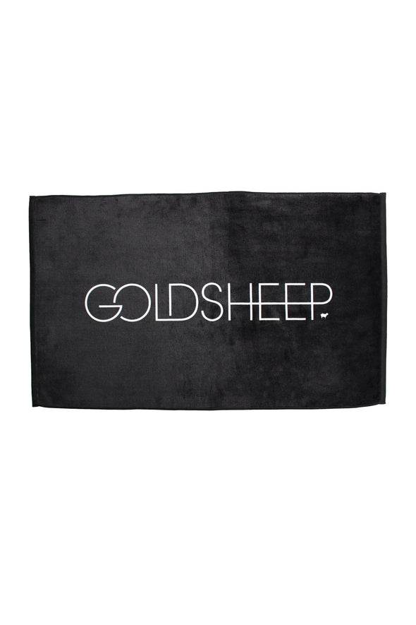 GOLDSHEEP Sweat Towel - Black