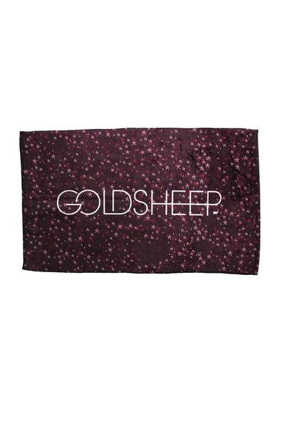 GOLDSHEEP Sweat Towel - Maroon Stardust