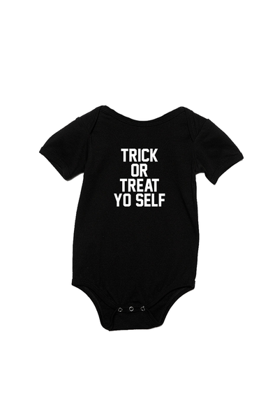 Trick or Treat Yo Self Infant Onesie