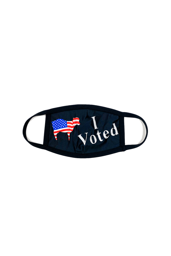 I Voted Mask