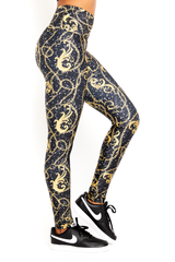 Chains & Graffiti Legging