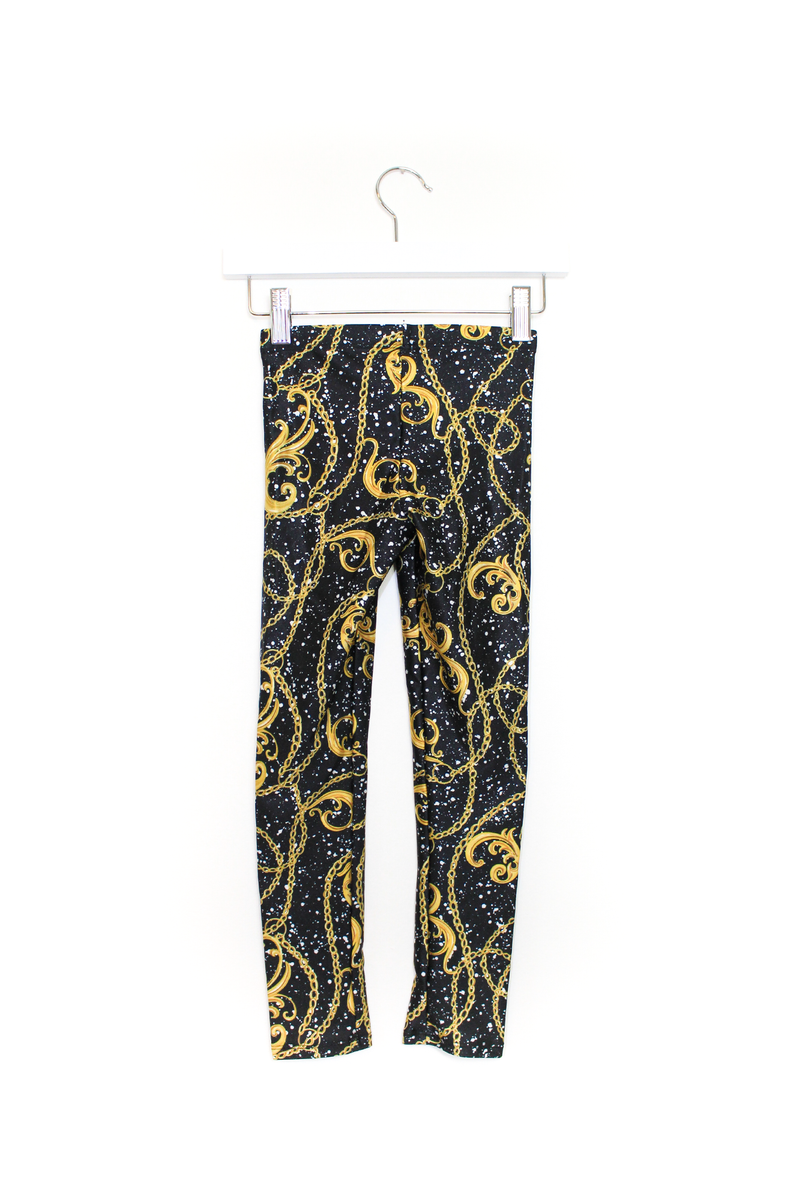 Chains & Graffiti Kids Leggings