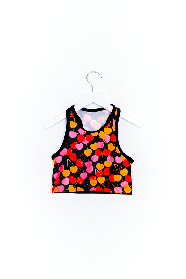 Cherries Crop Top Kids
