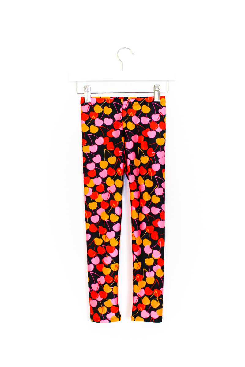 Cherries Kids Leggings