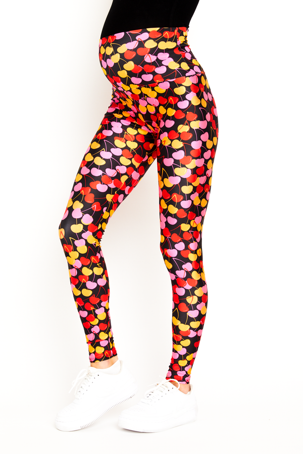 Cherries Maternity Legging